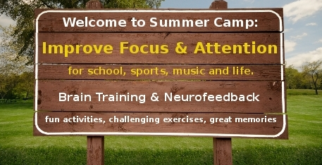 summer camp welcome sign